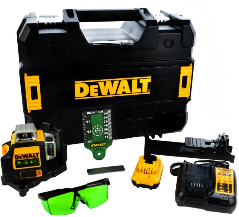 Laser płaszczyznowy, zielony DCE089D1G DEWALT