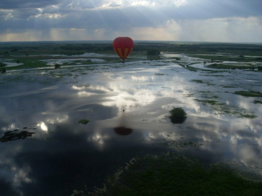 Lot balonem - Białystok