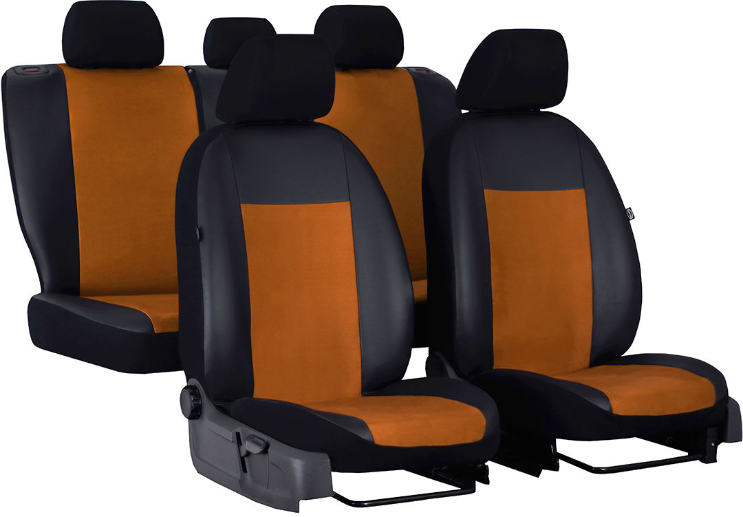 Pokrowce samochodowe do Ford Mustang coupe, Unico, kolor brązowy