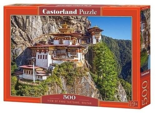 Puzzle Castorland 500 - Kot w skrzynce, Fothergill