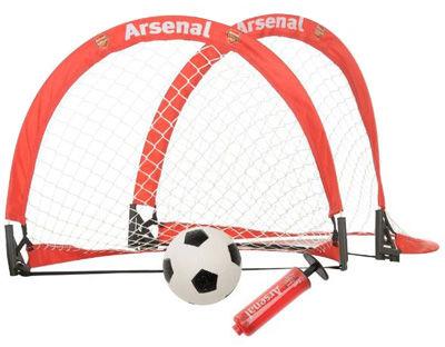 Arsenal Londyn - zestaw z mini bramkami