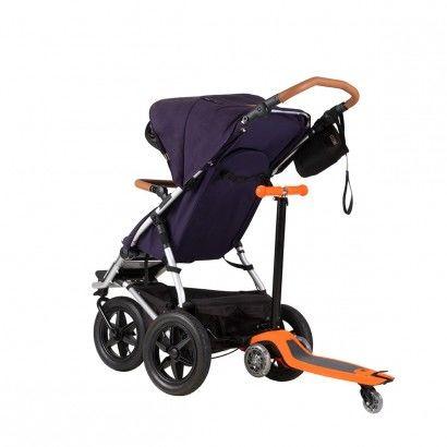Mountain Buggy - Free Rider - 2w1: hulajnoga + dostawka do wózka