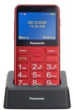 Panasonic Telefon dla seniora KX-TU155 czerwony