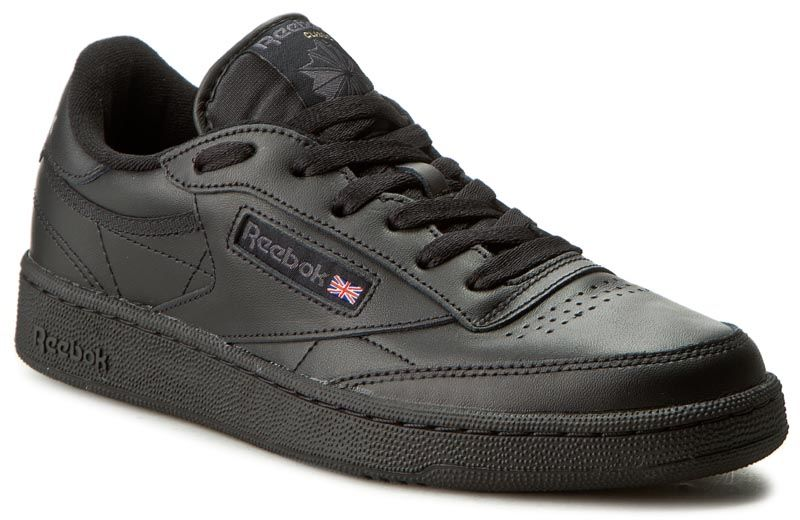 Buty Reebok - Club C 85 AR0454 Black/Charcoal