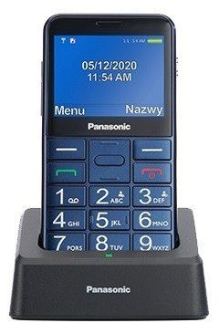 Panasonic Telefon dla seniora KX-TU155 niebieski