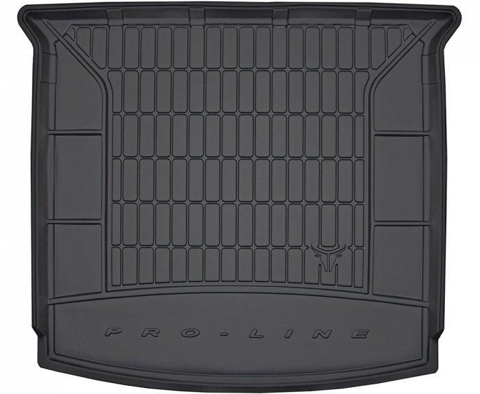 Mata bagażnika gumowa SEAT Tarraco od 2018 wersja 7 osobowa ( ostatni rząd siedzeń złożony )