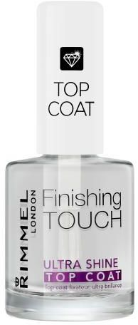 Rimmel London Finishing Touch Ultra Shine Top Coat lakier do paznokci 12 ml dla kobiet