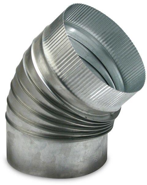 Rura spalinowa, łuk 90 , 200 mm