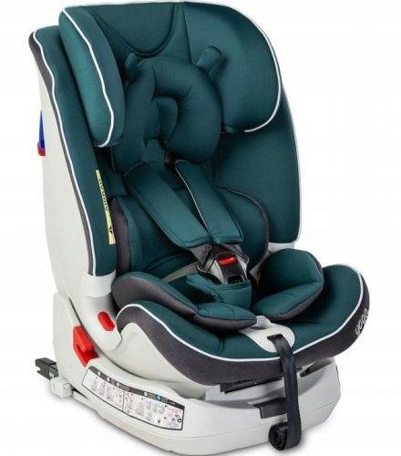 Caretero Fotelik samochodowy Yoga 0-25 Kg Isofix Green