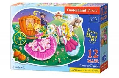 Puzzle Castorland 20 MAXI - Uciekający kopciuszek, Cinderella