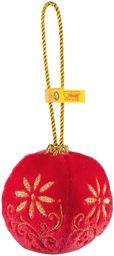 Steiff 8 cm pluszowa bombka świąteczna (czerwona)