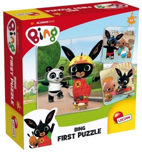 Pierwsze Puzzle Lisciani - Bing