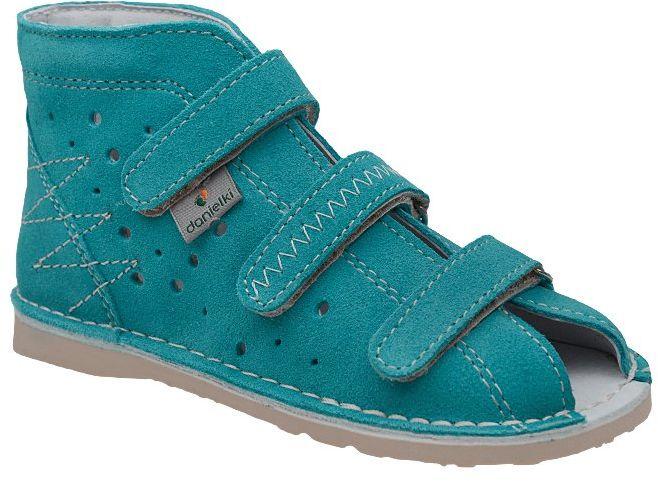 Kapcie profilaktyczne buty DANIELKI T105 T115 Turkus - Turkusowy
