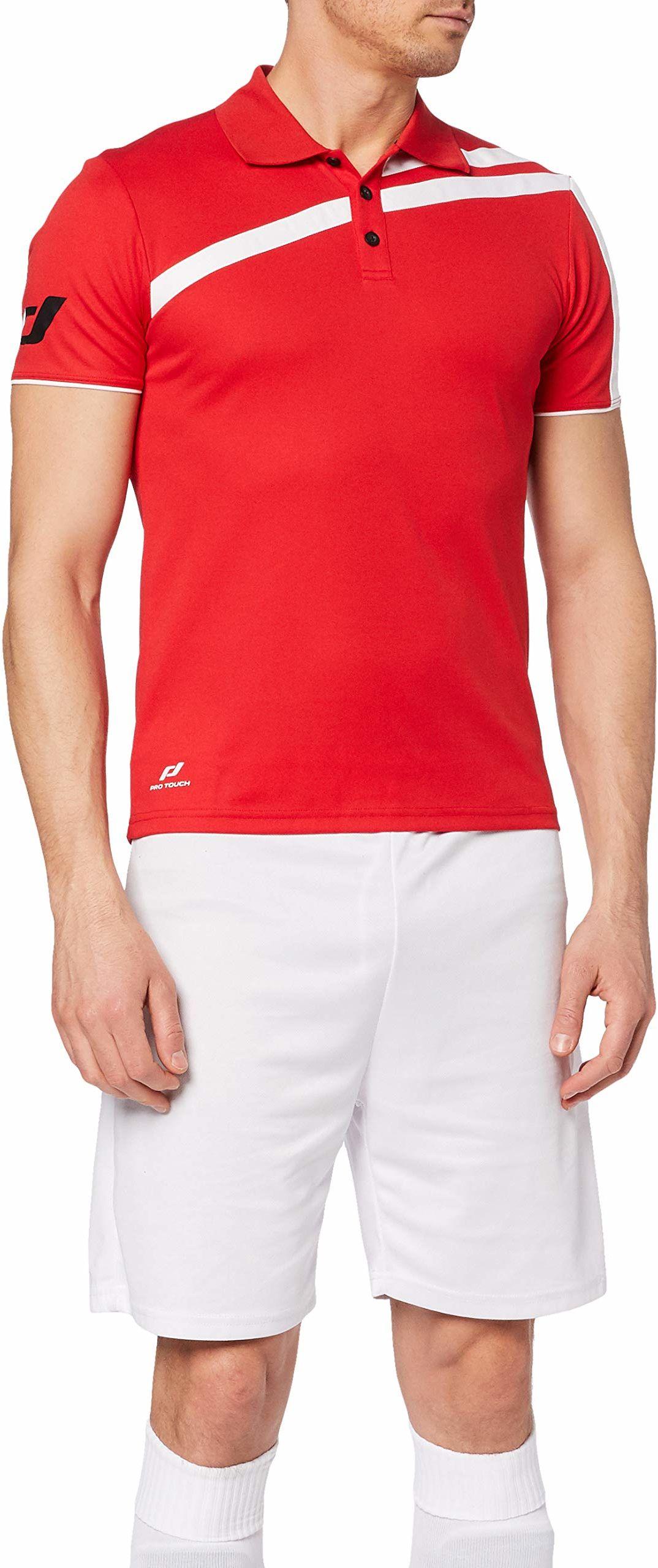 Pro Touch męska koszulka polo Kurtis czerwony czerwony X-L