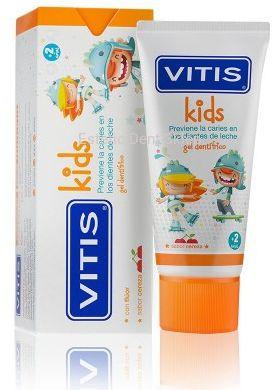 VITIS Kids 50ml - pasta do zębów dla dzieci o smaku wiśniowym