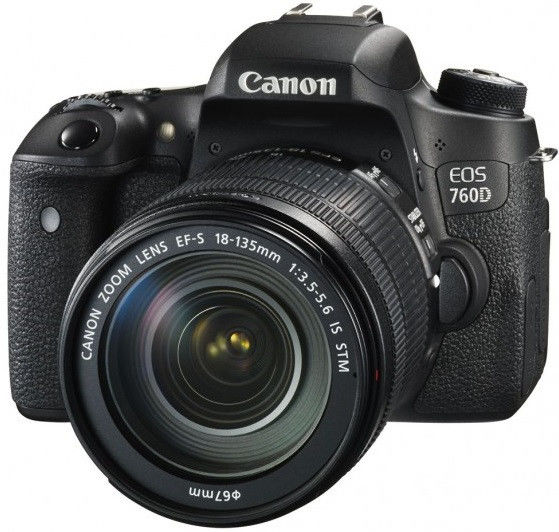 Canon EOS 77D +EF-S 18-135mm IS USM Nano Czarny