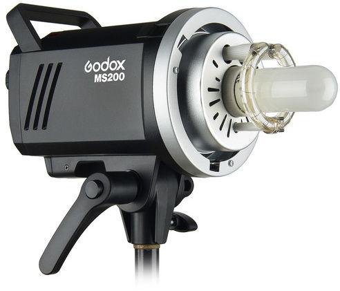 Godox MS200 - studyjna lampa błyskowa, 5600K, 200Ws, Bowens S. Godox MS200 studyjna lampa błyskowa