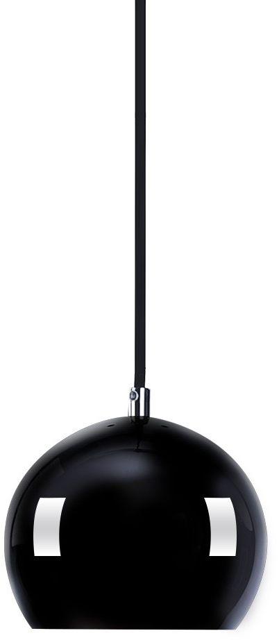 Lampa wisząca Noa 1 AZ1033 AZzardo nowoczesna oprawa w kolorze czarnym