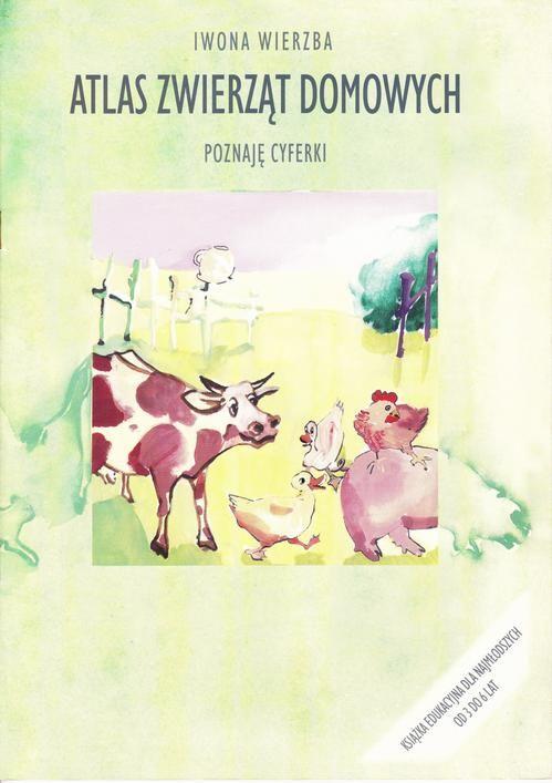 Atlas zwierząt domowych.Poznaję cyferki - Iwona Wierzba - ebook