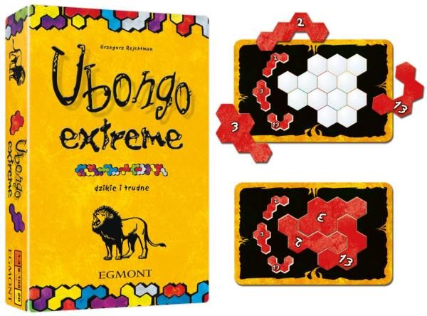 Ubongo Extreme ZAKŁADKA DO KSIĄŻEK GRATIS DO KAŻDEGO ZAMÓWIENIA