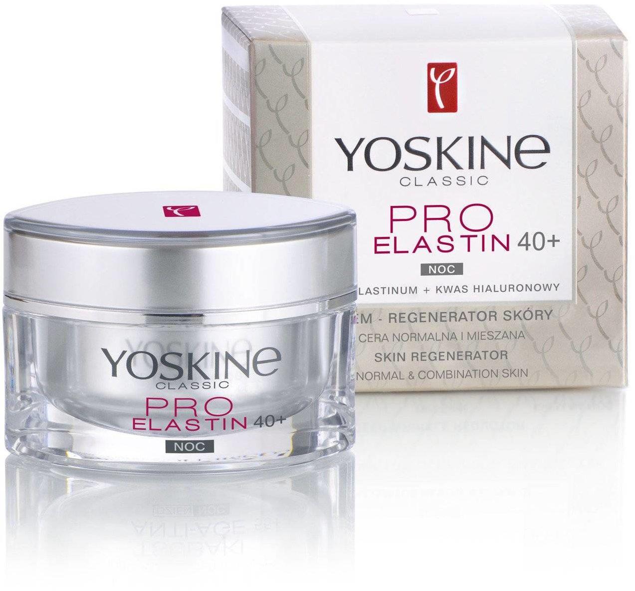 Yoskine Classic Pro Elastin 40+ Krem na noc 50ml