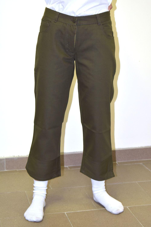 3/4 spodnie damskie CUCKOO CCK 3/4 PANTS Green