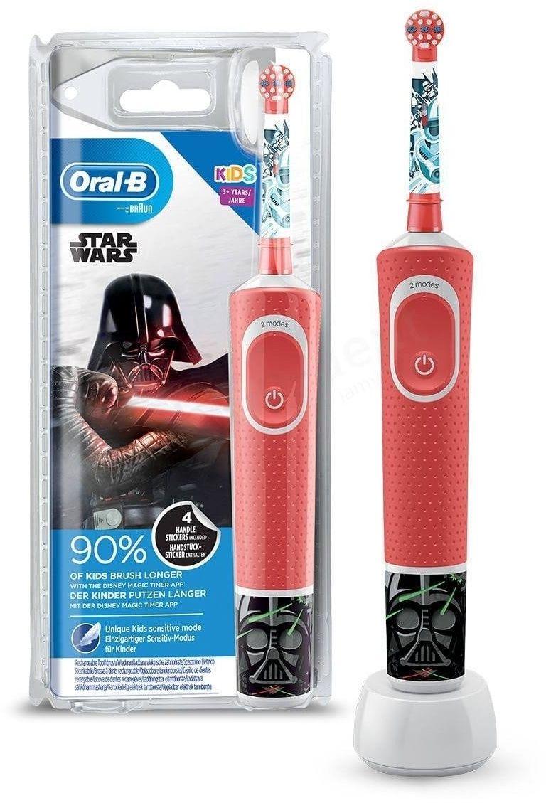 Szczoteczka elektryczna dla dzieci ORAL-B Vitality Kids D100 Star Wars Gwiezdne Wojny od 3 lat