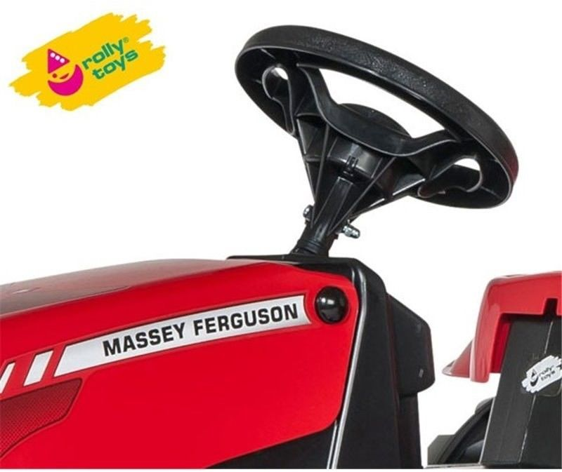 Rolly Toys Traktor na Pedały z Przyczepką - Massey Ferguson rollyKid