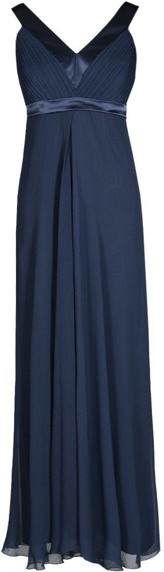 Sukienka FSU166 GRANATOWY