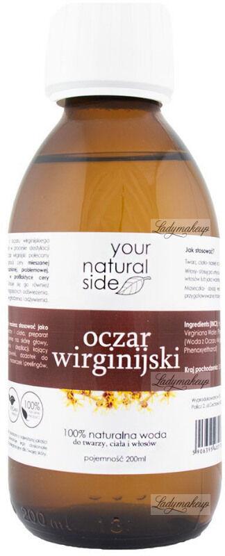 Your Natural Side - 100% naturalna woda z oczaru wirginijskiego - 200 ml
