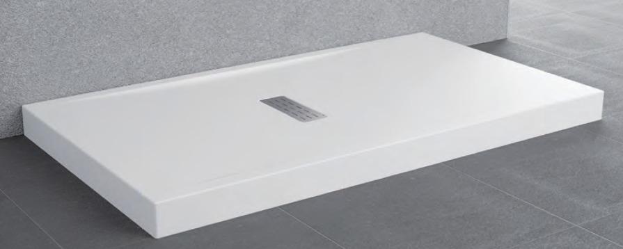 Novellini Custom brodzik prostokątny z obudową 140x70x12cm CU1407011-30