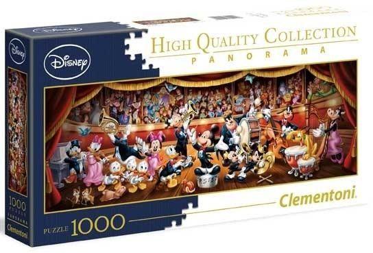 Puzzle Clementoni 1000 - Orkietra Disney Orchestra - (panorama)