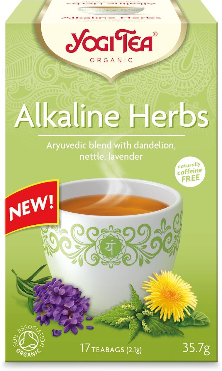 Herbatka zioła alkaliczne mniszek, porzywa, lawenda bio 17 x 2,1 g 35,7 g - yogi tea