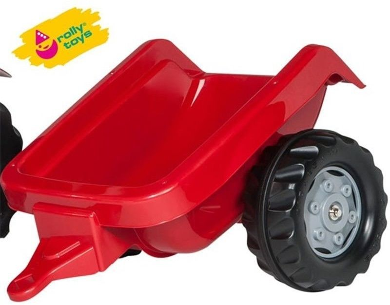 Rolly Toys Traktor na Pedały z Przyczepką Case rollyKid