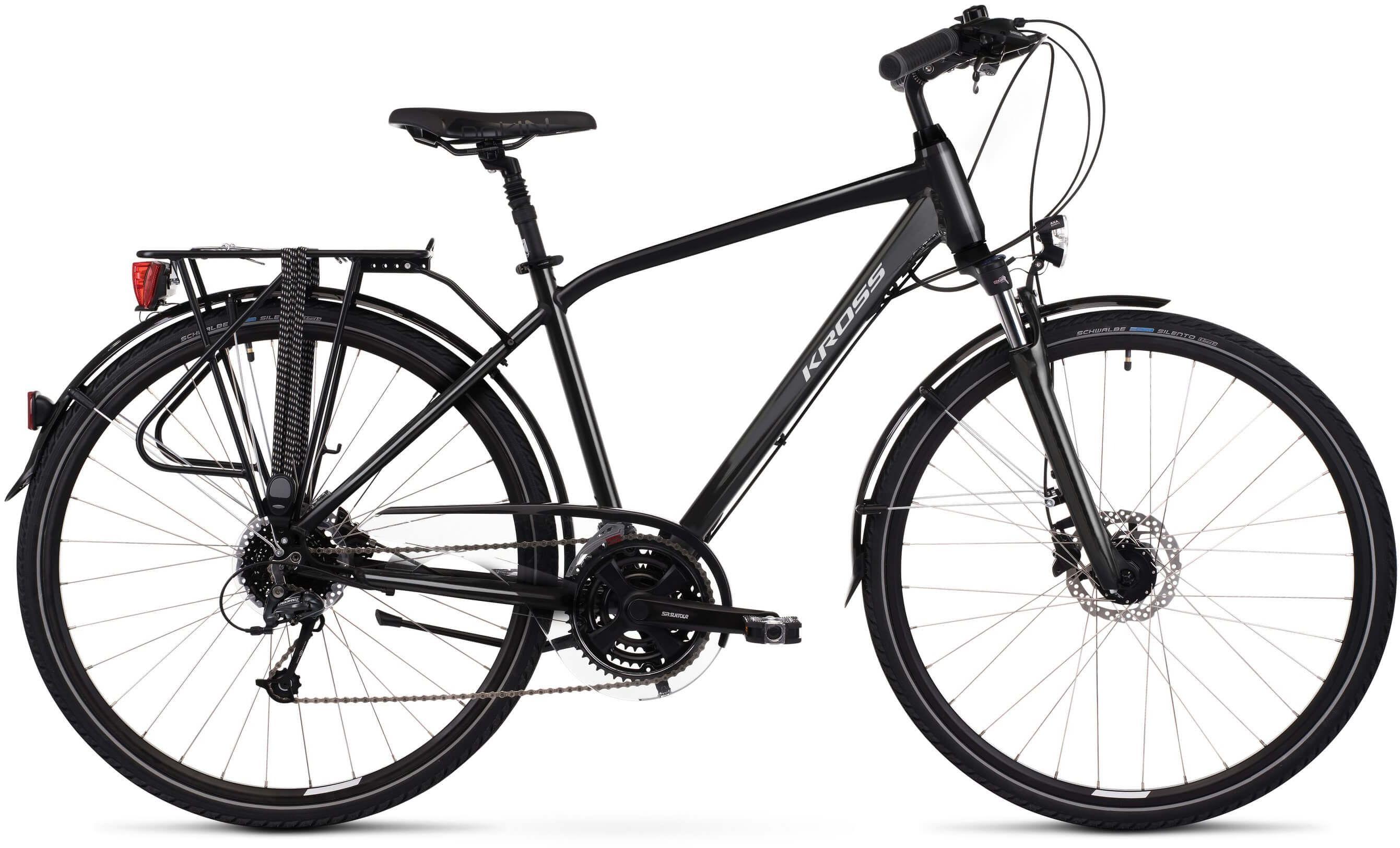 """Rower Kross TRANS 5.0 czarny 28"""" 2021"""