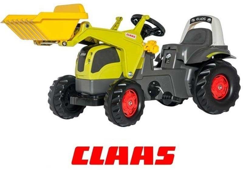 Rolly Toys Traktor na Pedały z Łyżką CLAAS rollyKid