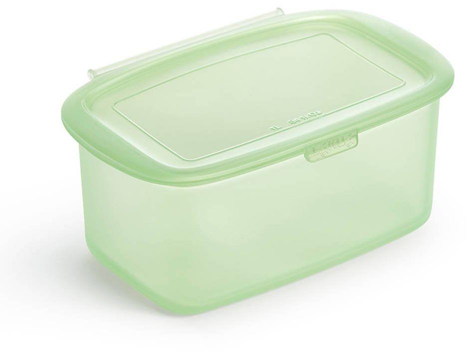 Wielorazowy silikonowy pojemnik na żywność 1 l Lekue - green