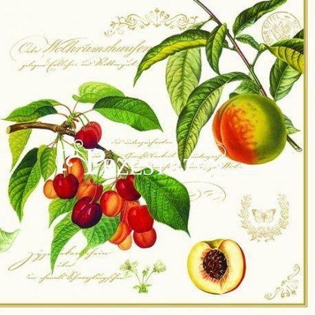 SERWETKI PAPIEROWE - Fruits Garden - Ogród Owocowy
