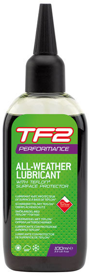 WELDTITE TF2 PERFORMANCE TEFLON ALL WEATHER olej do łańcucha na warunki suche i mokre 100ml,5013863030478