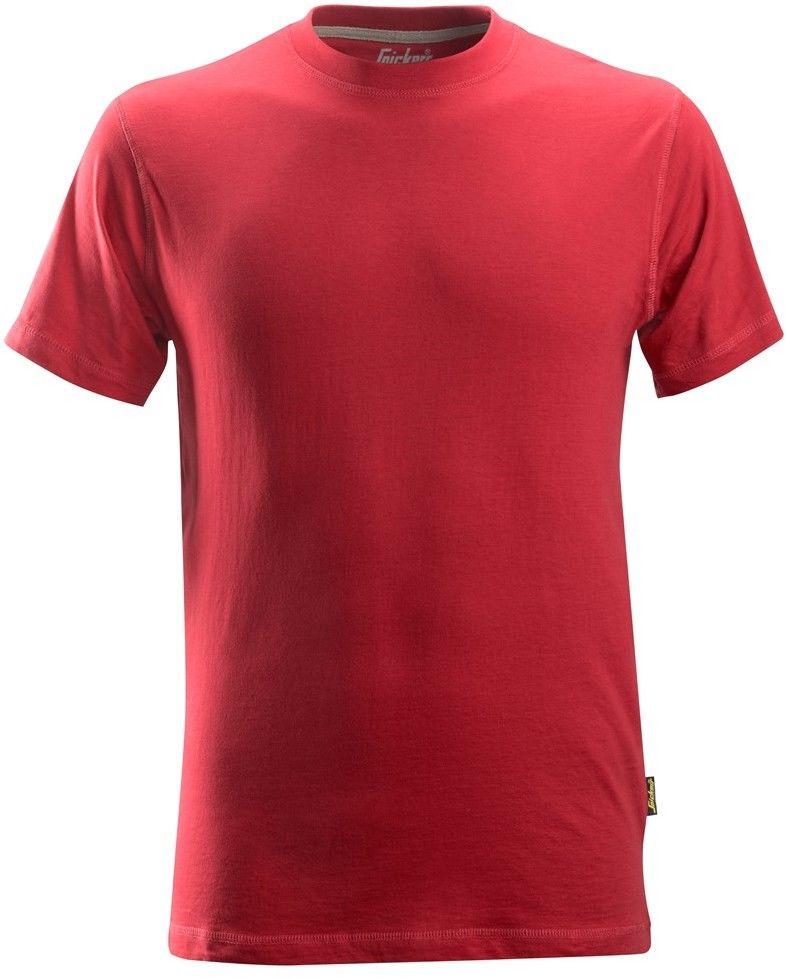 T-shirt koszulka męska, czerwona, rozmiar L, 2502 Snickers [25021600006]