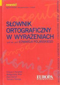 Słownik ortograficzny w wyrażeniach