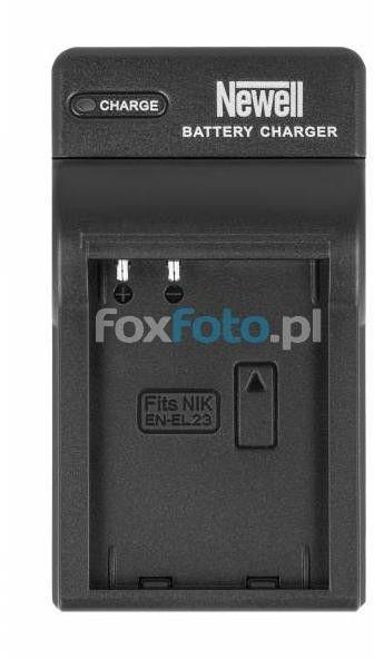 Ładowarka Newell DC-USB do akumulatorów EN-EL23 Nikon Coolpix P600, P900
