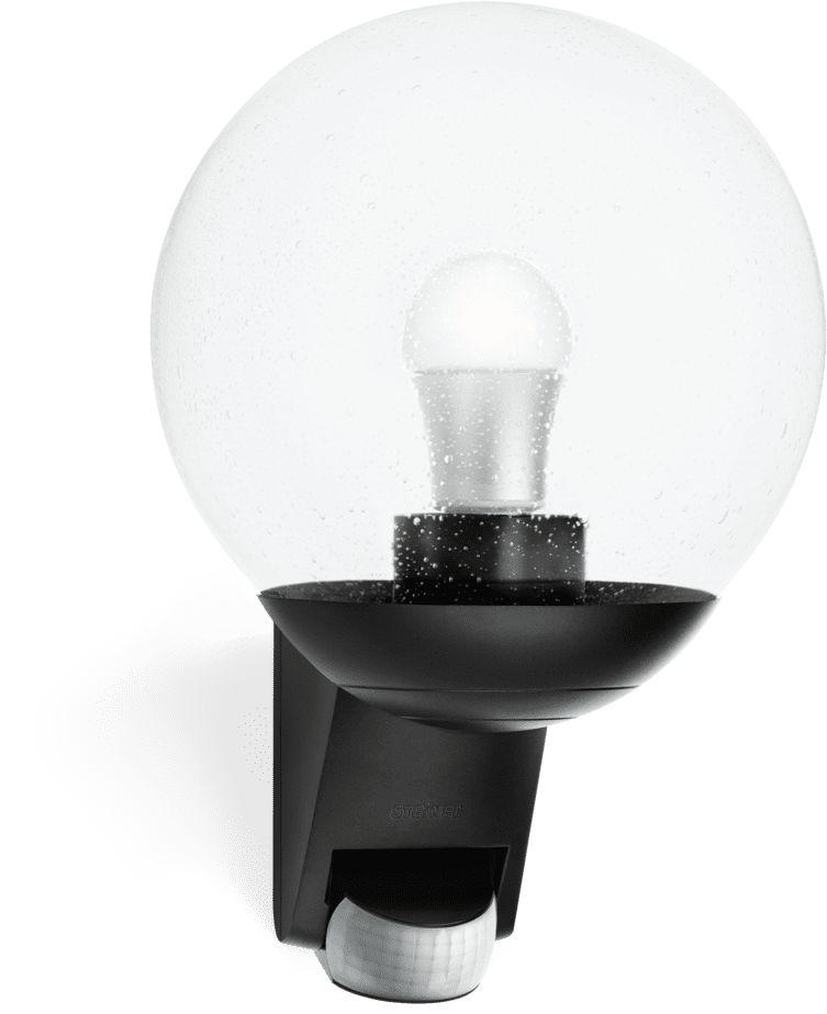 Oprawa z czujnikiem L 585 s ST005535 Steinel zewnętrzna oprawa świetlna w stylu nowoczesnym w kolorze czarnym