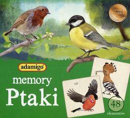 Gra memory Ptaki ZAKŁADKA DO KSIĄŻEK GRATIS DO KAŻDEGO ZAMÓWIENIA