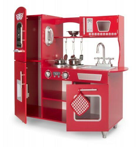 Duża drewniana kuchnia Red