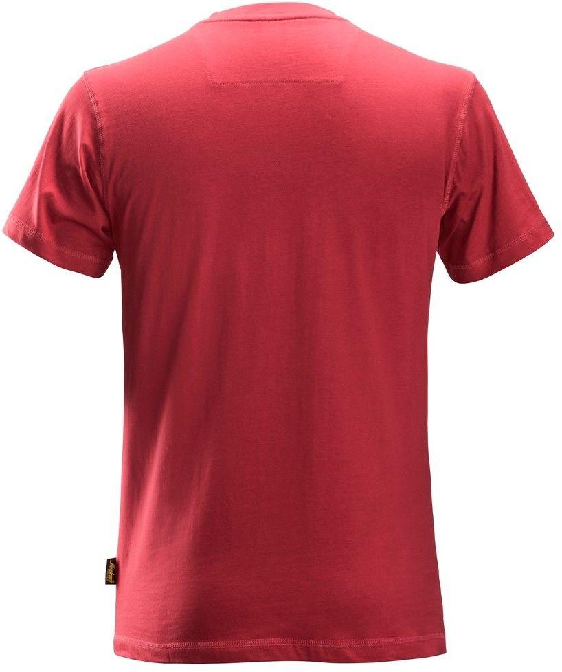 T-shirt koszulka męska, czerwona, rozmiar S, 2502 Snickers [25021600004]
