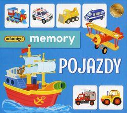 Gra memory Pojazdy ZAKŁADKA DO KSIĄŻEK GRATIS DO KAŻDEGO ZAMÓWIENIA