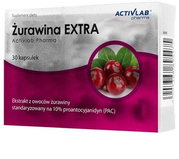 ŻURAWINA EXTRA 30 kaps