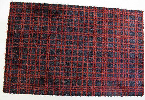 Fusion Dry wycieraczka poliamid 80 x 120 cm czerwona
