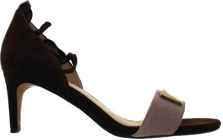 Sandały damskie Clarks Amali Onyx Dark Brown Combi brązowe261301744